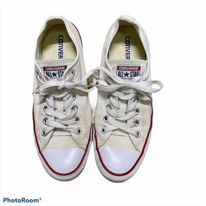 Converse Shoes White Size 7 Women's Pre Owned
